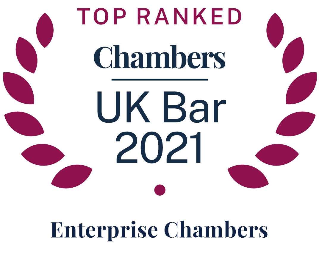 Top Ranked Chambers UK Bar 2021